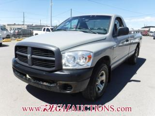 Used 2008 Dodge RAM 1500  REG CAB 2WD for sale in Calgary, AB