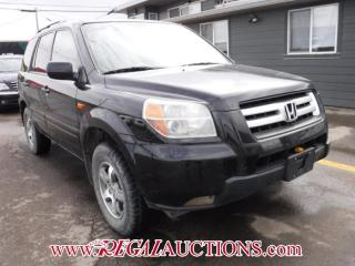 Used 2007 Honda PILOT EX 4D UTILITY 4WD for sale in Calgary, AB