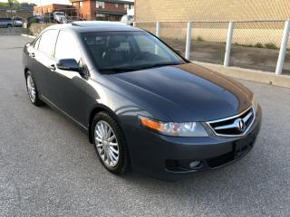 Used 2007 Acura TSX Manual I Heated Seat I Leather for sale in North York, ON