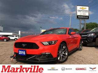 Used 2016 Ford Mustang UPGRADED -CERTIFIED PRE-OWNED-1 OWNER-MUST SEE! for sale in Markham, ON