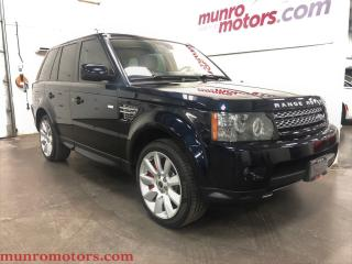 Used 2012 Land Rover Range Rover Sport Supercharged Buckingham Blue 510 HP for sale in St George Brant, ON
