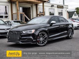 Used 2015 Audi S3 2.0T Technik NAVI BLIS BACKUP CAMERA for sale in Ottawa, ON