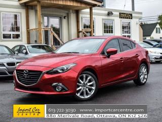 Used 2016 Mazda MAZDA3 GT NAVI HUD BACKUP CAMERA for sale in Ottawa, ON