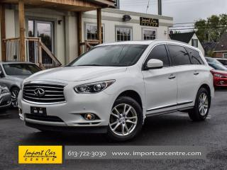 Used 2013 Infiniti JX35 PREMIUM DELUXE TOURING PKG for sale in Ottawa, ON