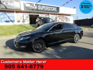 Used 2014 Lincoln MKZ Base  HYBRID TECH-PKG ADAP-CC SELF-PARK LD BS NAV PANO-ROOF for sale in St Catharines, ON