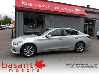 Used 2014 Infiniti Q50 Premium, Nav, Heated Seats, Sunroof, Backup Camera for sale in Surrey, BC