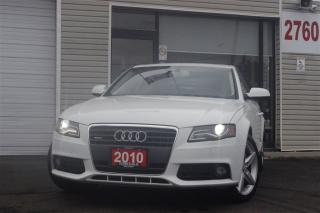 Used 2010 Audi A4 2.0T QUATTRO. LEATHER. ROOF. CLEAN for sale in Toronto, ON