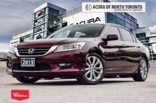 Used 2015 Honda Accord Sedan L4 Touring CVT Accident Free| Navigation| Ba for sale in Thornhill, ON
