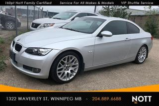Used 2007 BMW 328 i 6-Speed Manual Coupe for sale in Winnipeg, MB