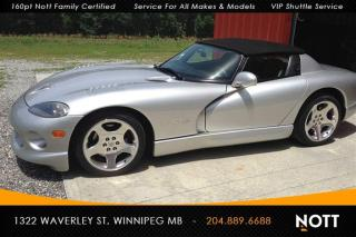 Used 1999 Dodge Viper RT/10 Collector's Item ONLY 4, for sale in Winnipeg, MB