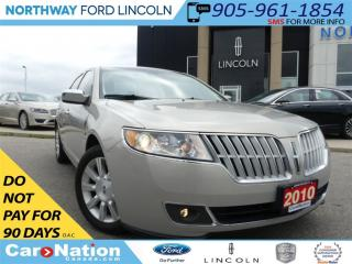 Used 2010 Lincoln MKZ Base | NAV | REAR CAM | HEATED/COOLED SEATS | for sale in Brantford, ON