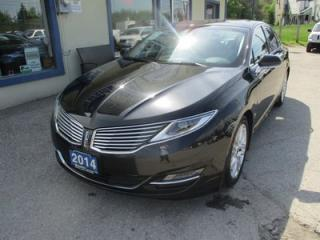 Used 2014 Lincoln MKZ LOADED ALL-WHEEL DRIVE 5 PASSENGER 3.7L - V6.. LEATHER.. HEATED/AC SEATS.. NAVIGATION.. BACK-UP CAMERA.. POWER SUNROOF.. for sale in Bradford, ON