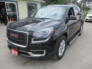 Used 2015 GMC Acadia FAMILY MOVING SLE-2 MODEL 7 PASSENGER 3.6L - V6.. AWD.. CAPTAINS.. 3RD ROW.. HEATED SEATS.. BACK-UP CAMERA.. TOW SUPPORT.. for sale in Bradford, ON