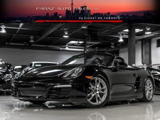 Used 2013 Porsche Boxster 6 SPEED CONVERTIBLE for sale in North York, ON