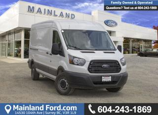 Used 2017 Ford TRANSIT-250 Base MED ROOF CARGO VAN for sale in Surrey, BC