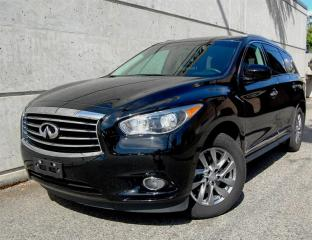 Used 2013 Infiniti JX35 CVT Local Low KM No damage Finance Available for sale in Vancouver, BC