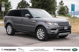 Used 2014 Land Rover Range Rover Sport V6 HSE (2) *Certified Pre-Owned! for sale in Vancouver, BC