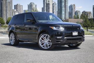 Used 2015 Land Rover Range Rover Sport V8 Supercharged Autobiography Dynamic *Certified Pre-Owned! for sale in Vancouver, BC