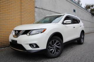 Used 2016 Nissan Rogue SL AWD Premium CVT SL model. Leather, navi, 360 camera, 1 owner, local for sale in Surrey, BC