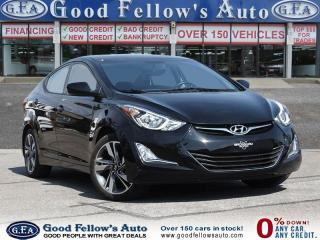 Used 2016 Hyundai Elantra SPORT PACKAGE, HEATED SEATS, SUNROOF for sale in North York, ON