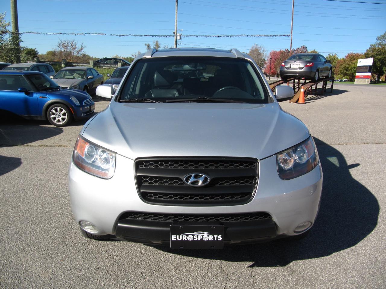 2007 Hyundai Santa Fe GL Premium LEATHER & SUNROOF