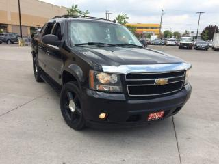 Used 2007 Chevrolet Avalanche LTZ,4x4, Leather sunroof, Navigations, camera, for sale in North York, ON