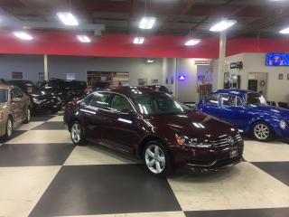 Used 2014 Volkswagen Passat 1.8 TSI COMFORTLINE AUTO LEATHER SUNROOF 74K for sale in North York, ON