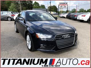 Used 2014 Audi A4 Progressive+Quattro+GPS+Brown Leather+Park Sensors for sale in London, ON