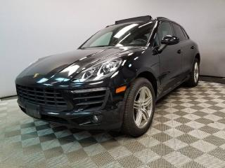 Used 2015 Porsche Macan Locally Owned and Serviced Porsche Macan S - Certified Inspected to Include 2 years unlimited mileage warranty for sale in Edmonton, AB