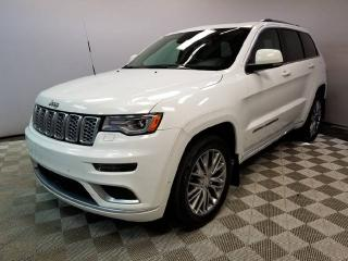 Used 2017 Jeep Grand Cherokee Summit - Fully Loaded - Local Edmonton Vehicle - Clean Carproof for sale in Edmonton, AB