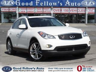 Used 2014 Infiniti QX50 PREMIUM PACKAGE, LEATHER SEATS, SUNROOF for sale in North York, ON