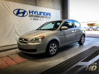 Used 2009 Hyundai Accent GL 3 PORTES AUTOMATIQUE + BAS KM + A/C + for sale in Drummondville, QC