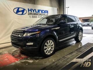 Used 2015 Land Rover Evoque PRESTIGE + GARANTIE + NAVI + CUIR + TOIT for sale in Drummondville, QC