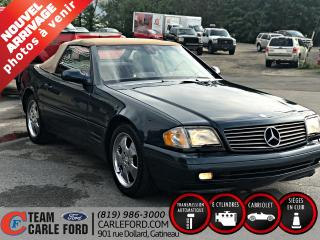 Used 1999 Mercedes-Benz SL500 Mercedes SL500 1999, Convertible for sale in Gatineau, QC
