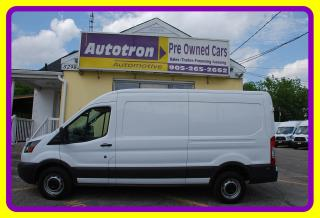 Used 2016 Ford TRANSIT-250 3/4 Ton Mid Roof Cargo Van, Loaded for sale in Woodbridge, ON