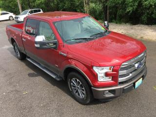 Used 2015 Ford F-150 Lariat Only 53000 km Rear wheel Drive for sale in Perth, ON
