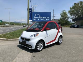 Used 2014 Smart fortwo SMART FORTWO ELECTRIQUE 2014 for sale in Chateau-richer, QC