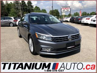 Used 2017 Volkswagen Passat Camera+GPS+Heated Leather+Blind & Lane Departure++ for sale in London, ON
