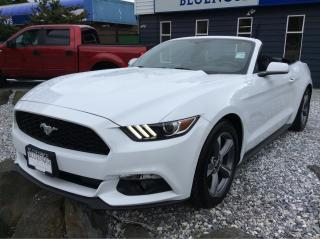 Used 2016 Ford Mustang V6 Ecoboost Premium for sale in Parksville, BC