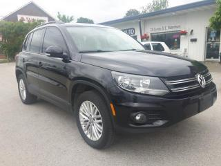 Used 2015 Volkswagen Tiguan Special Edition for sale in Waterdown, ON