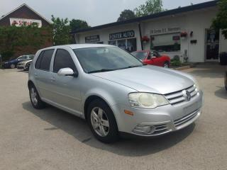 Used 2008 Volkswagen City Golf Base for sale in Waterdown, ON