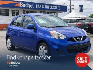 Used 2016 Nissan Micra Bluetooth, Automatic, Premium Audio, Low Kms for sale in Vancouver, BC