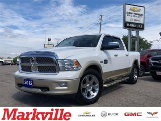 Used 2012 RAM 1500 LARAMIE LONGHORN-VERY CLEAN-CERTIFIED PRE-OWNED for sale in Markham, ON