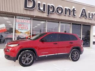 Used 2017 Jeep Cherokee 4 RM, 4 portes, Sport for sale in Alma, QC