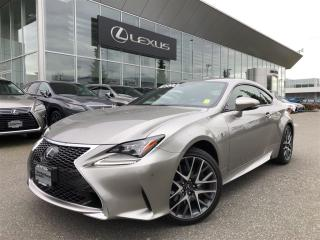 Used 2017 Lexus RC 350 AWD 6A for sale in Surrey, BC