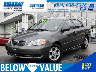 Used 2007 Toyota Corolla SE**SUNROOF**ALLOYS**A/C** for sale in Surrey, BC