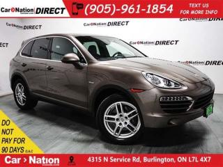 Used 2013 Porsche Cayenne | DIESEL| SUNROOF| NAVI| AWD| for sale in Burlington, ON