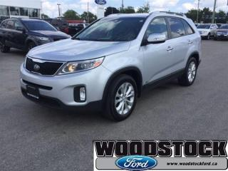 Used 2015 Kia Sorento EX Leather, Local Trade for sale in Woodstock, ON