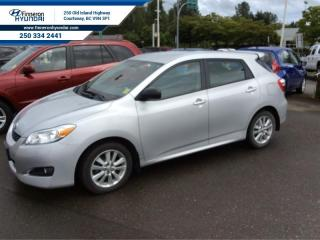 Used 2010 Toyota Matrix Base  New Brakes front and rear for sale in Courtenay, BC