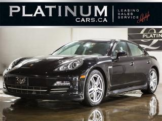 Used 2013 Porsche Panamera 4 AWD, NAVI, Sport CHRONO, BOSE, Sunroof for sale in Toronto, ON